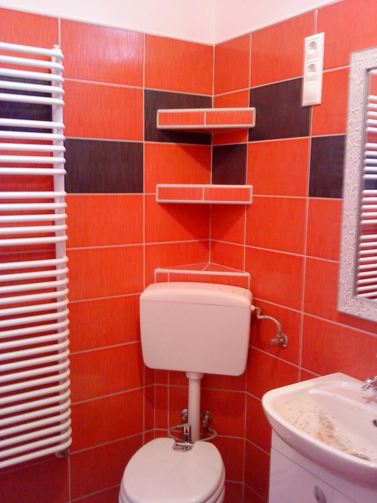 Németh Zoltán munkái: Piros és fekete fürdőszoba