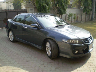 Honda Accord CL9 Pictures