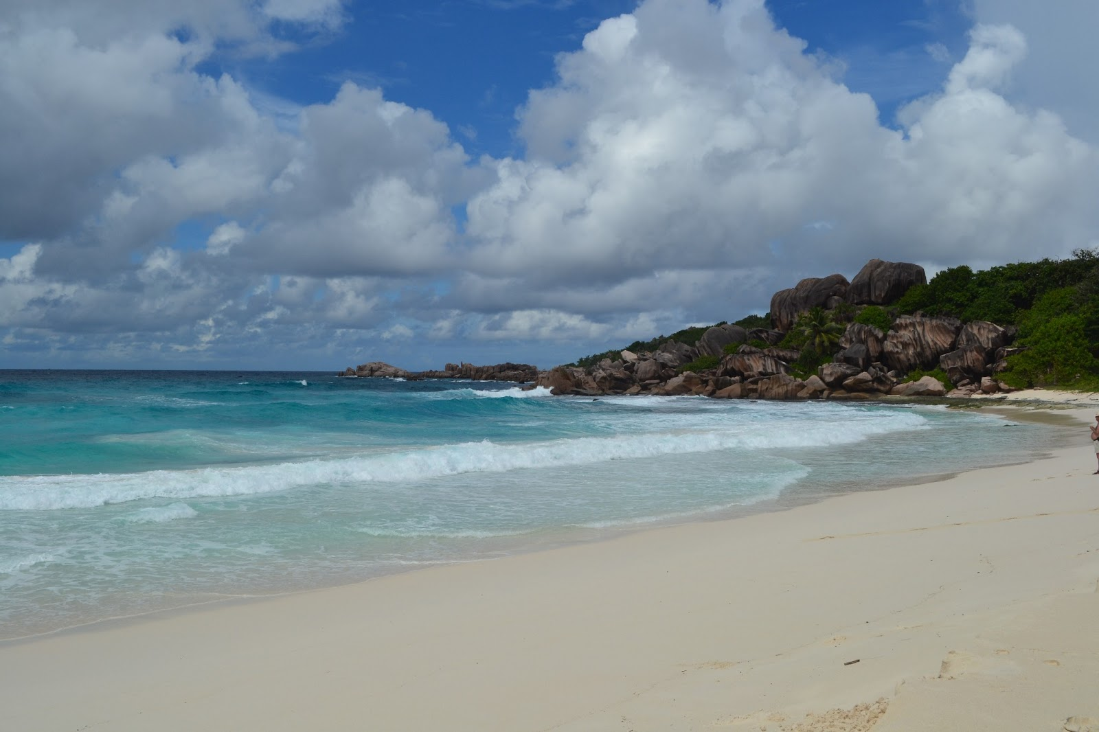 Grand Anse beach(La Digue island)