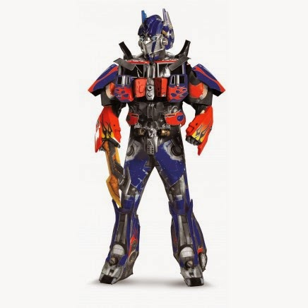 Disfraz Transformers Optimus Prime Elite