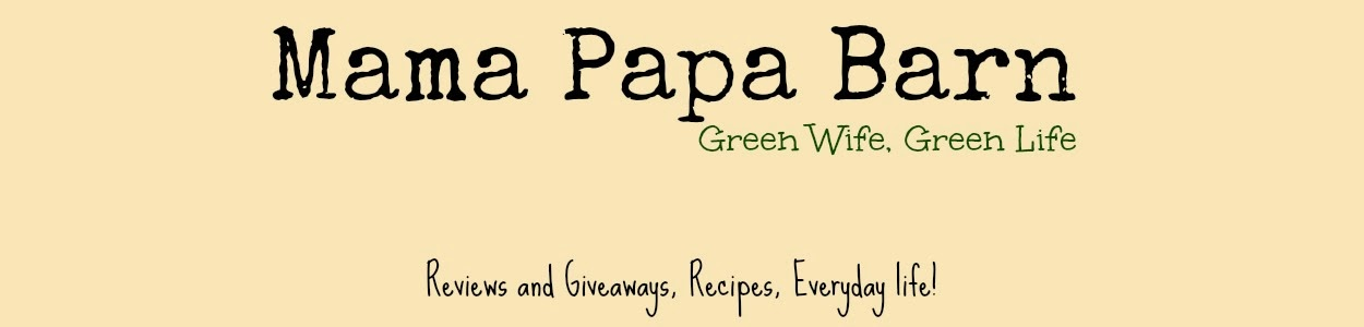 *Mama Papa Barn* Green Wife - Green Life
