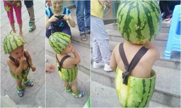 pakaian semangka
