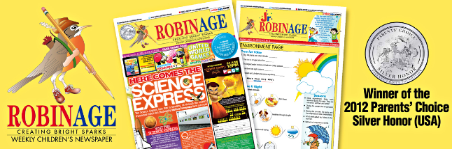 RobinAge Newspaper for Kids