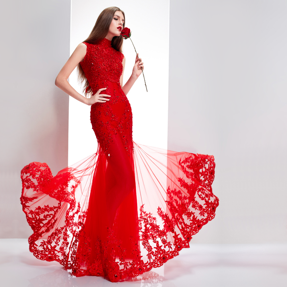 Wedding dresses red women 39 s fashion for Asian red wedding dresses