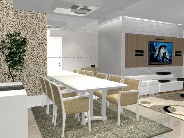 Sala de tv decorada Decoração para quartos