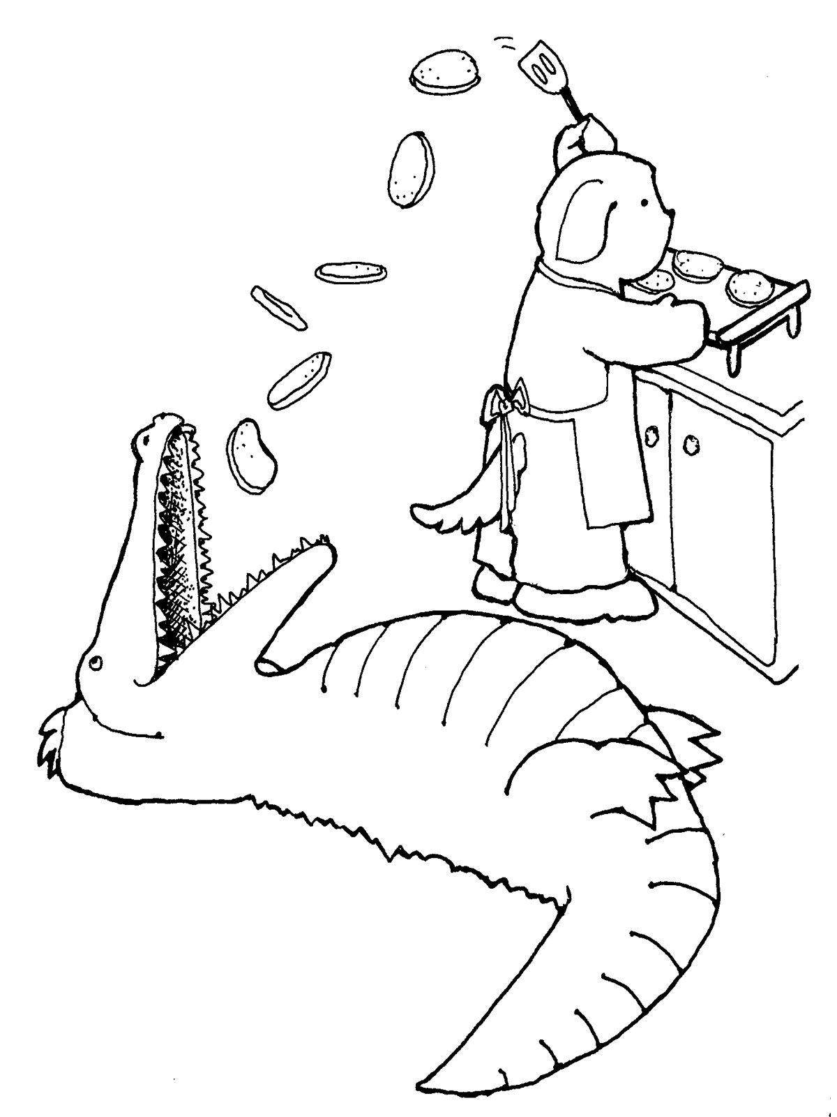 Realistic Alligator Coloring Pages Realistic Coloring Pages