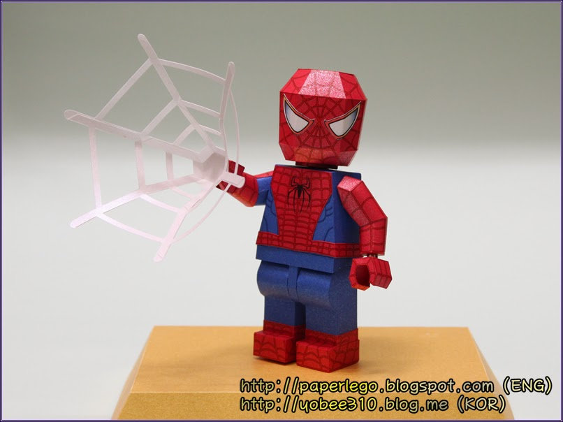 Lego Spider-Man Papercraft
