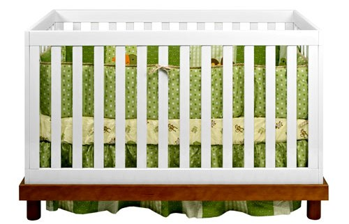 waiting for watermelon nursery stuff crib and bedding. Black Bedroom Furniture Sets. Home Design Ideas