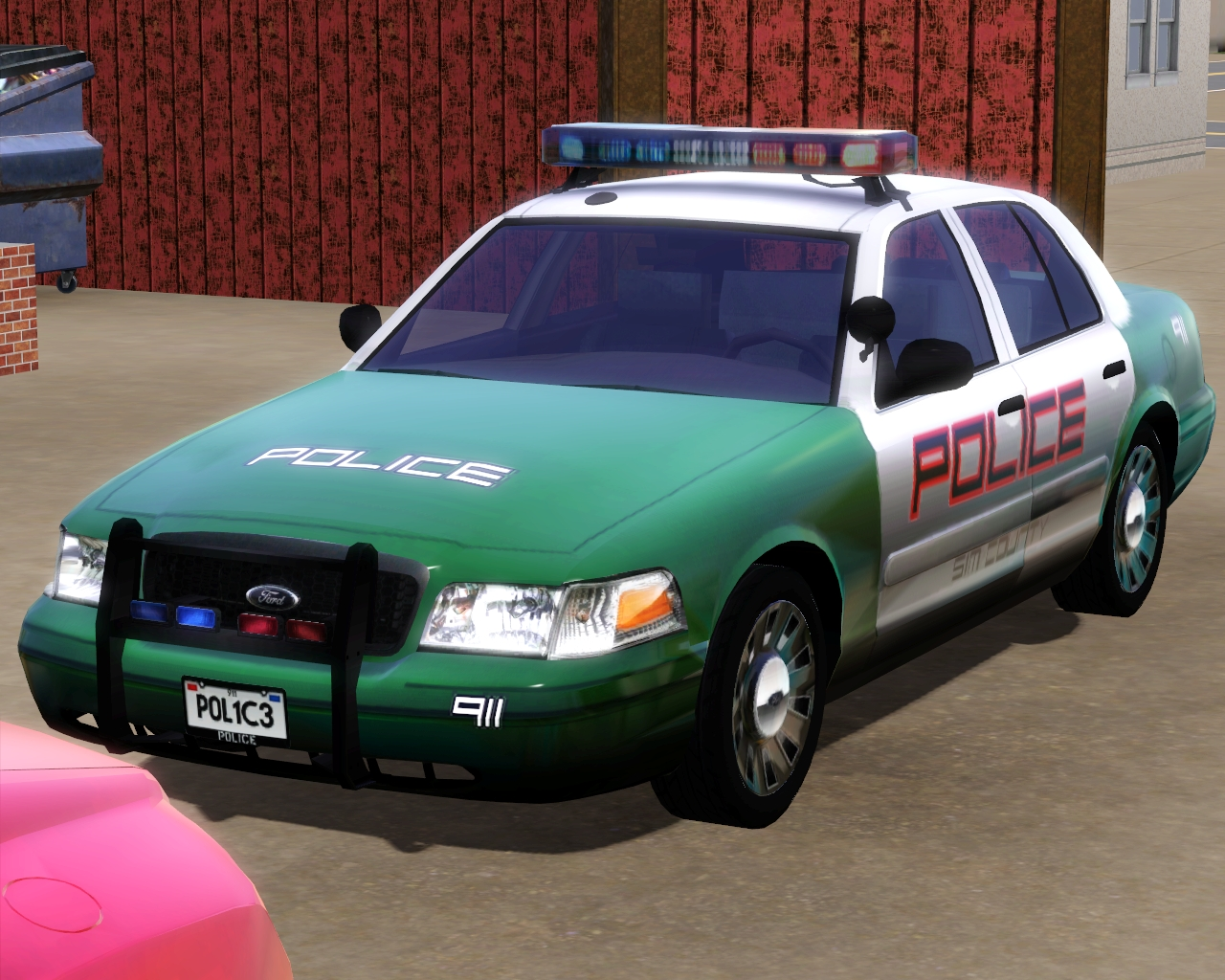 my sims 3 blog 2008 ford crown victoria police. Black Bedroom Furniture Sets. Home Design Ideas