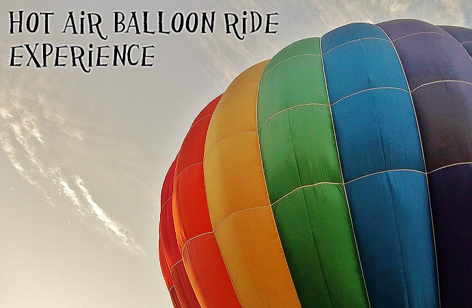 Bucket List: Hot Air Balloon Ride
