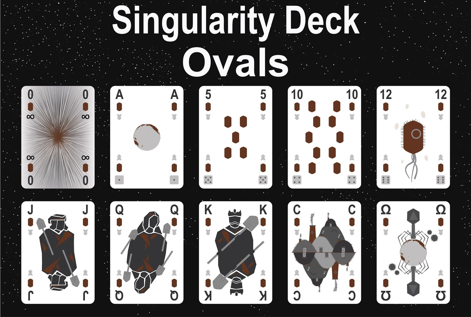 The Singularity Deck - Ovals Art