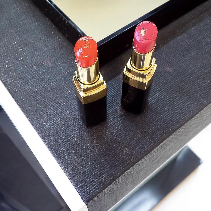 Chanel LA Sunrise Spring 2016 Makeup Swatches Photos Rouge Coco Shine Lipsticks Energy Shipshape