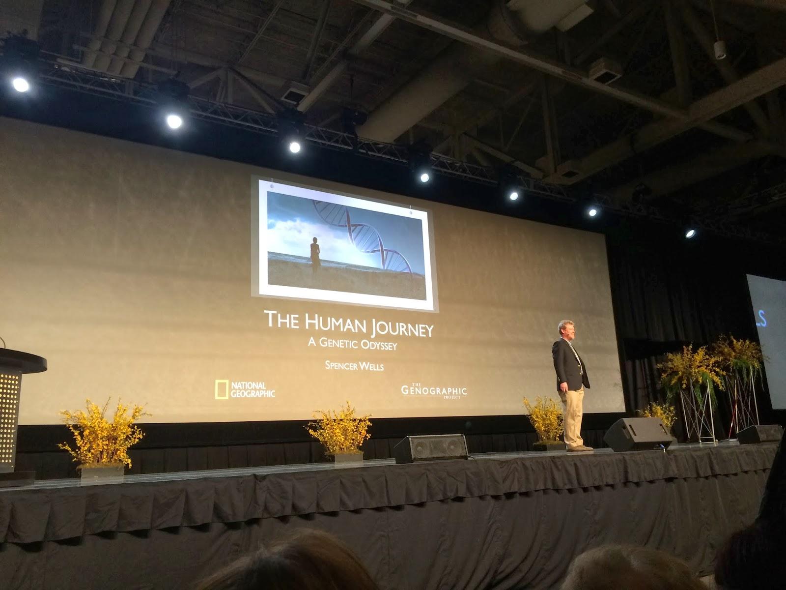 Dr. Spencer Wells Talks DNA and Genetics - Friday Keynote #2