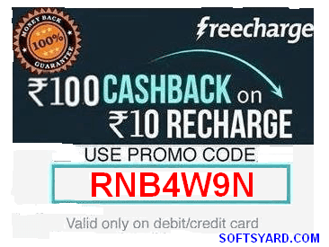 get recharge of Rs. 110 on Rs. 10 recharge on freecharge