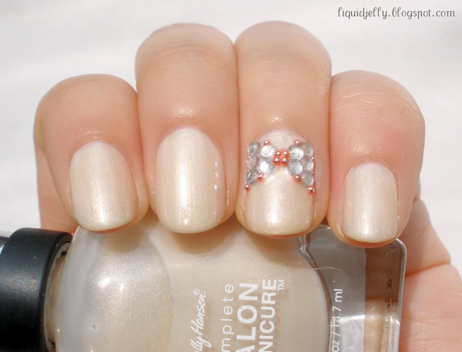 Neutral Stiletto Nails