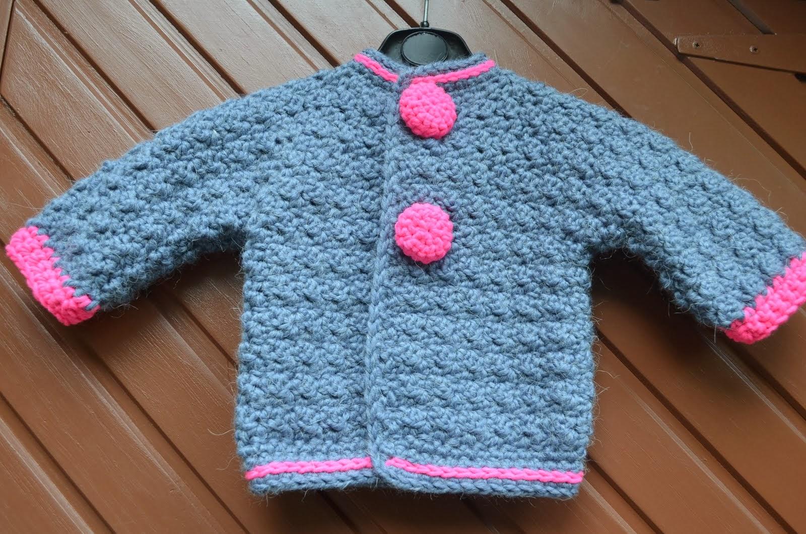 Pattern baby jacket