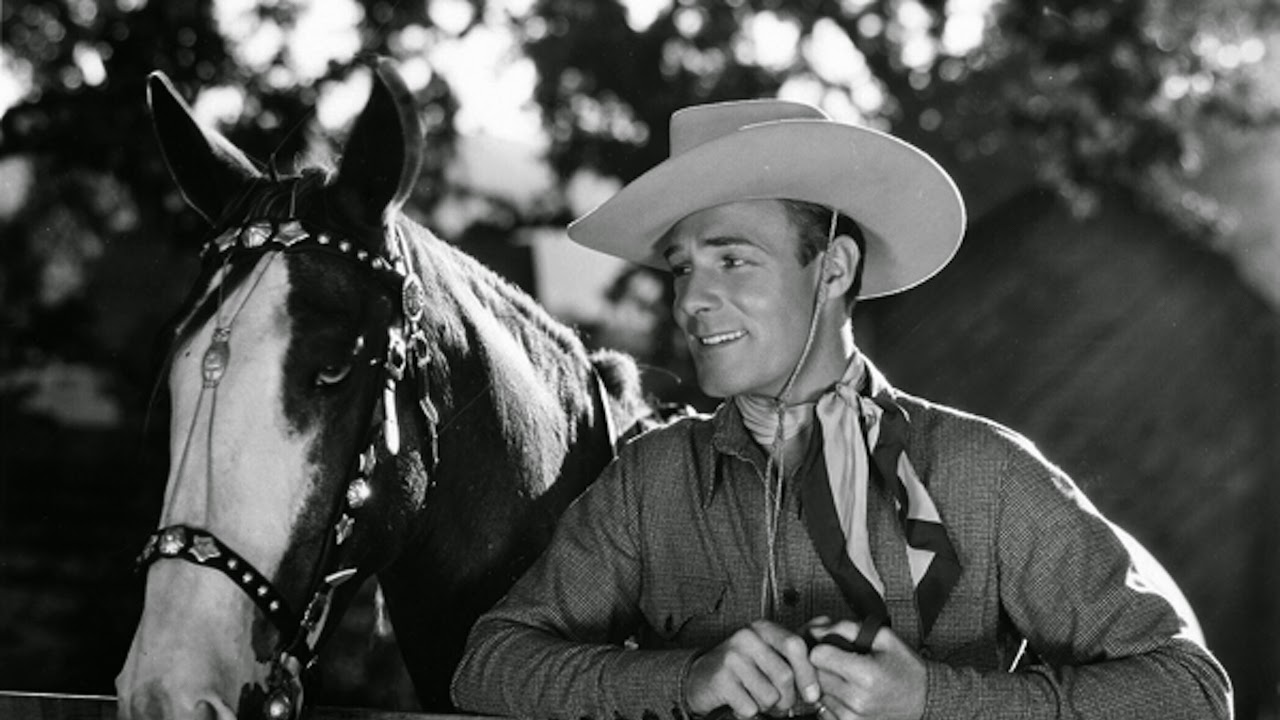 Randolph Scott Son Tourné Avec Randolph Scott