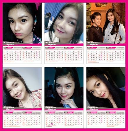 Template Kalender Duduk 2015