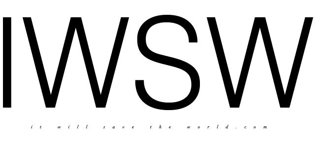 itwillsavetheworld