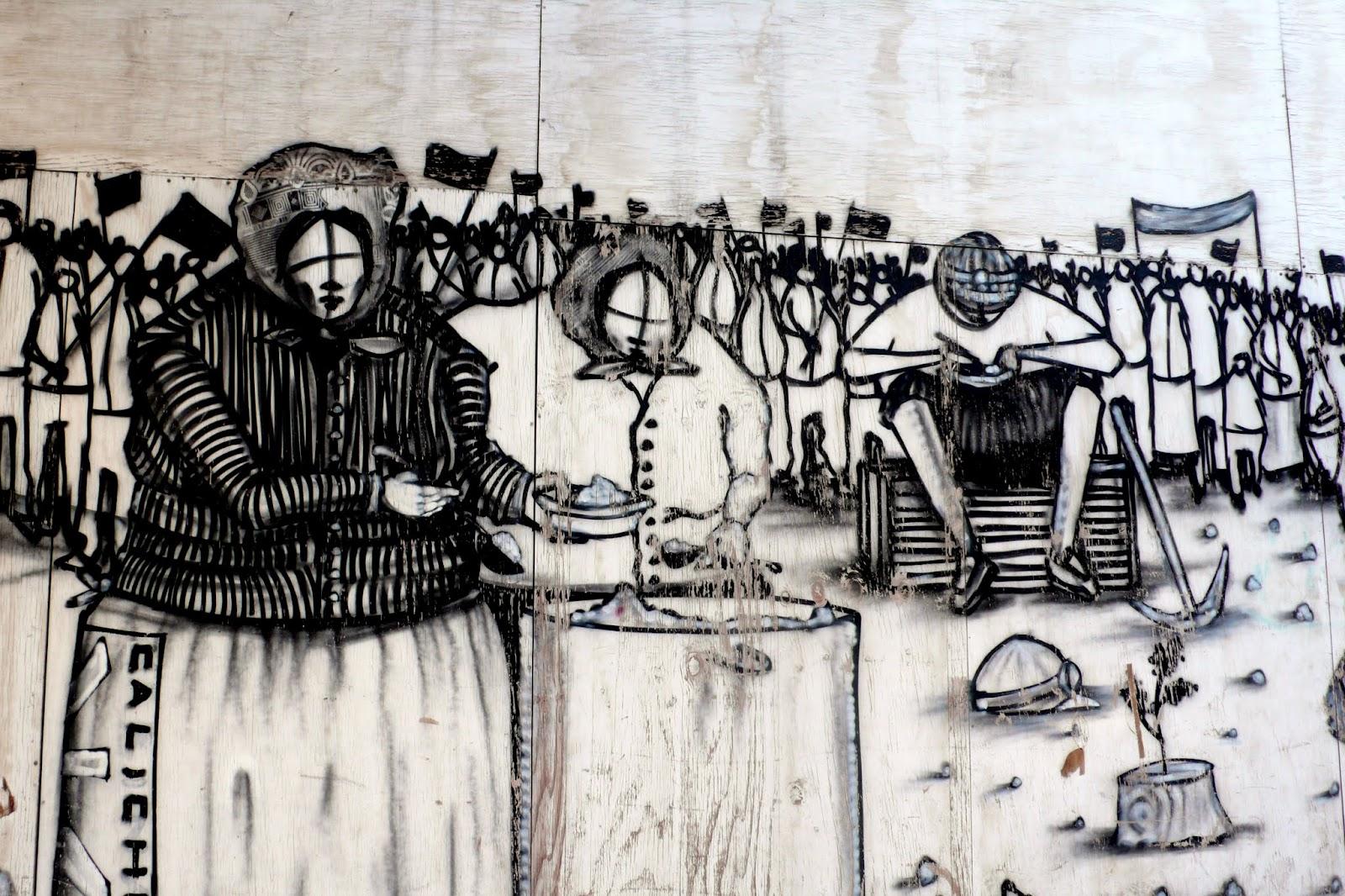 street art in santiago de chile barrio lastarria arte callejero