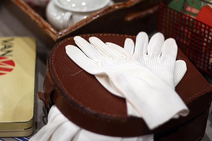 VerzamelaarsJaarbeurs 2014 vintage evening gloves avondhandschoenen beurs winkel