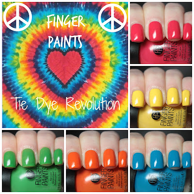 finger paints tie dye revolution review swatches