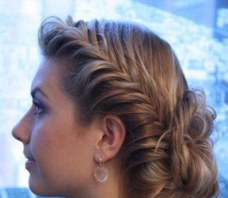 Peinado con trenza espiga cositasconmesh - Peinados paso a paso trenzas ...