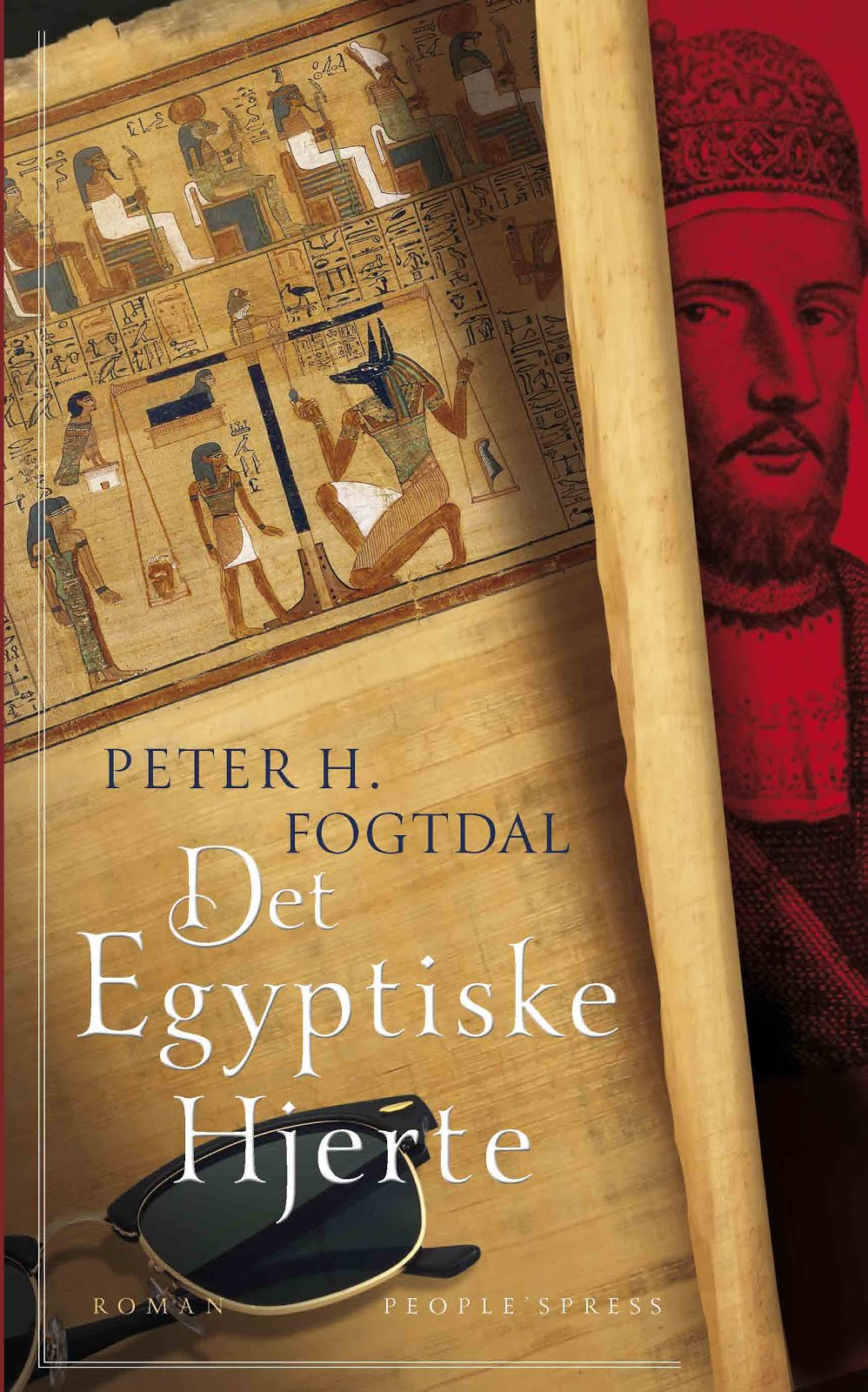 Novel in Danish From 2015: Det egyptiske hjerte (The Egyptian Heart)