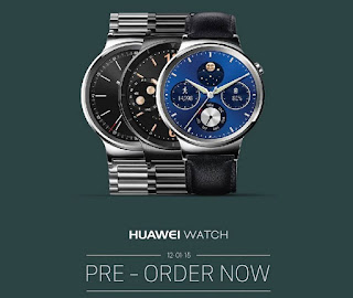 Huawei Watch Coming This December, Pre-Order Yours and Get Php5000 Worth of Luxury Strap