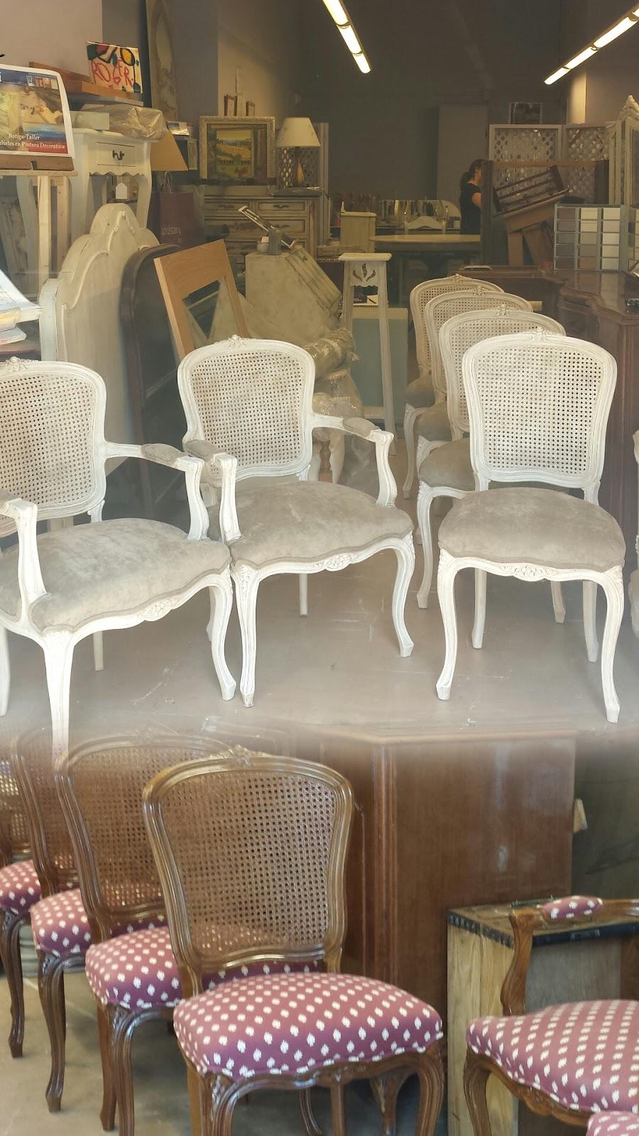 Candini muebles pintados nuevos y redecorados aires renovados o muebles blancos decapados - Muebles decapados ...