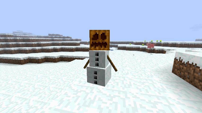 Как сделать снежок майнкрафте
