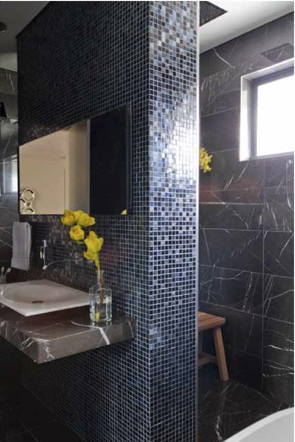 Minosa a lesson in luxe stunning main bathroom design for Main bathroom designs
