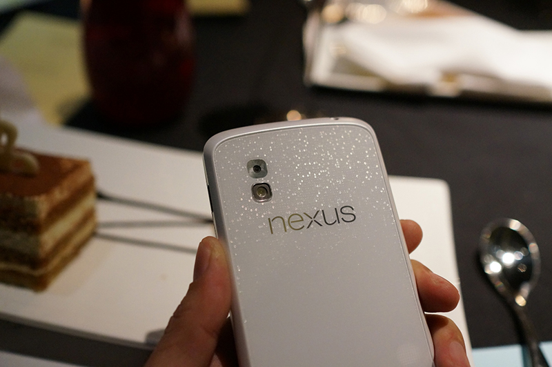 Google White Nexus 4