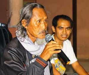Diskusi dan ramah tamah di road show PMK Amuntai