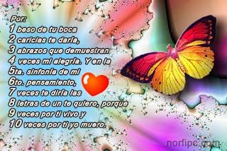 Frases De Amor: Por 1 Beso De Tu Boca 2 Caricias Te Daría