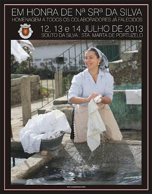 Cartaz da Senhora da Silva 2013