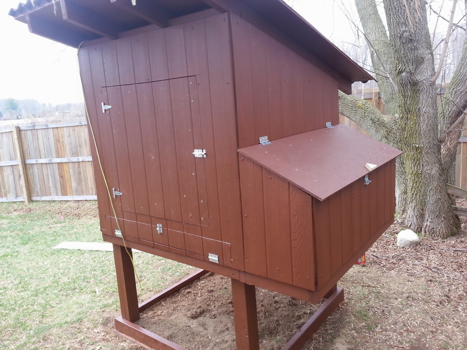 How To Build The Easy To Clean Backyard Chicken Coop Part One Simple Suburban Living