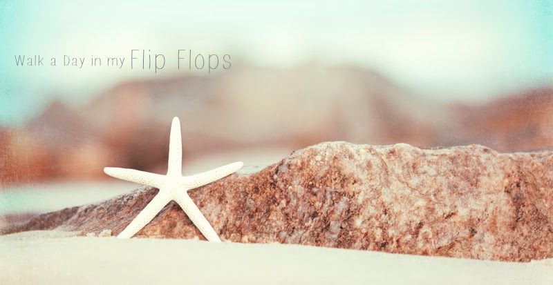 Walk a Day in my Flip Flops