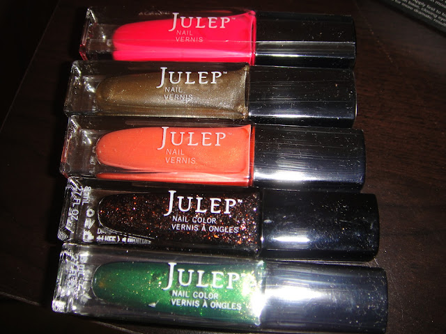 julep mystery box, new year's mystery box, new year julep, julep