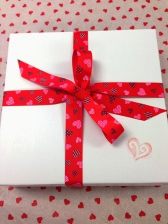 Valentine Cookie Gift Box