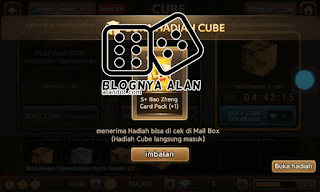 Trik Membuka Cube Legendary untuk Mendapatkan Vocher Gold/Diamond dan 3 Legenda China 18 Agustus 2015.