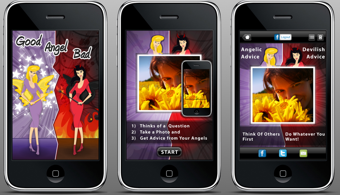 Clipinmedia com graphic designing work graphic design for Designing an iphone app