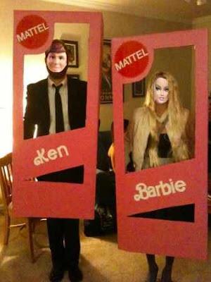 Barbie and Ken Halloween Costumes