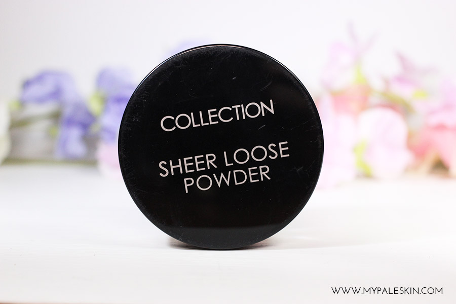 Collection Sheer Loose Powder - Translucent pale skin loose powder