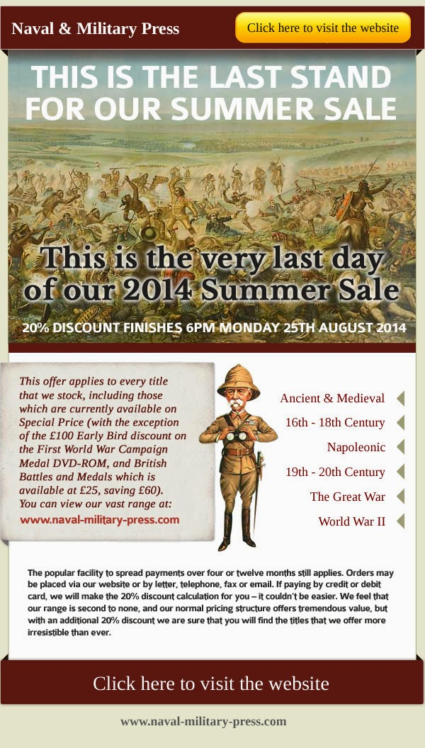 Naval and Military Press summer sale