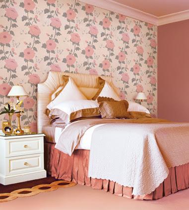 Không gian đẹp nhờ giấy dán tường 18