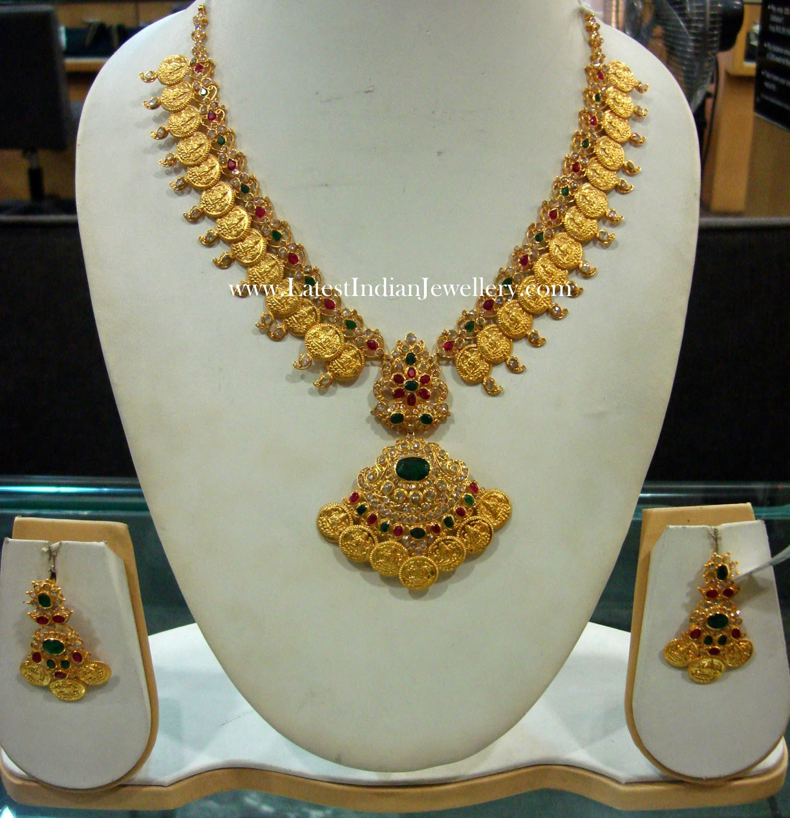 Kasu Mala in Chakri Diamonds