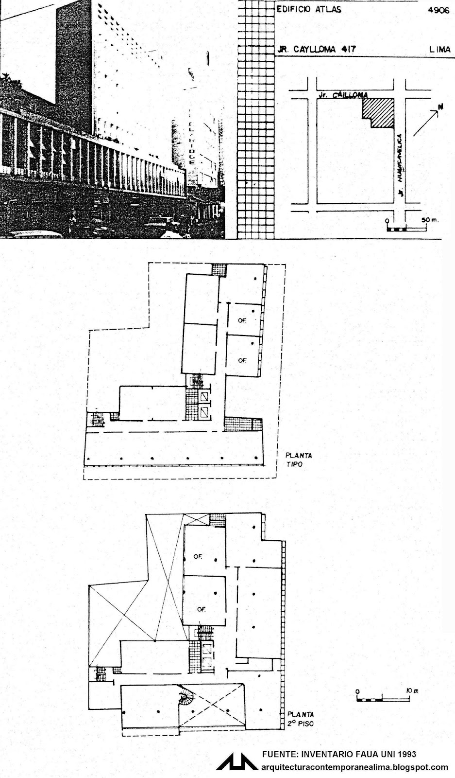 Arquitectura contemporanea de lima 4906 edificio atlas for Ministerio de pesqueria