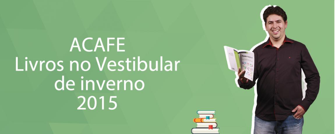 CURSO ONLINE - LIVROS ACAFE INVERNO 2015