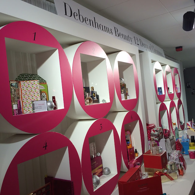 Debenhams Winter Beauty Press Day by What Laura did Next